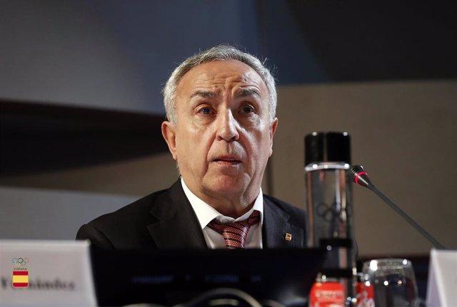 JJ.OO.- El COE y el Gobierno de Canarias fomentarán el deporte como valor social y lucharán contra las conductas de odio