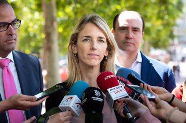 """Álvarez de Toledo: Torra viu """"en un deliri absolut quan renuncia"""" a la capitalitat de Barcelona (David Zorrakino - Europa Press)"""