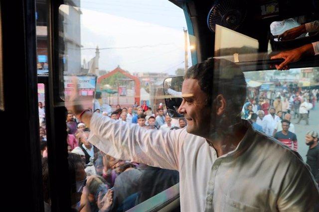 India.- El Partido del Congreso busca movilizar el sur de India a pocos días de las elecciones