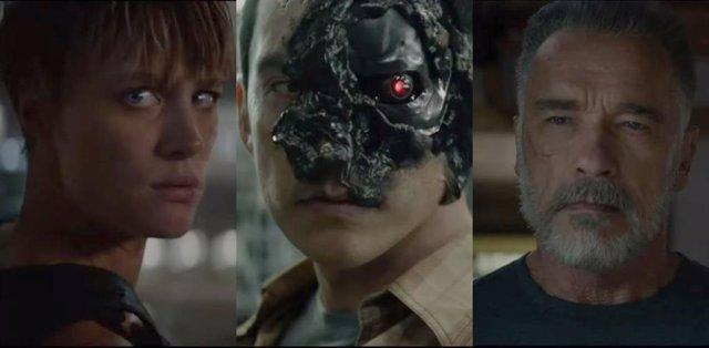 Trailer de Terminator Dark Fate con nuevos cyborgs, Schwarzenegger y el brutal regreso de Sarah Connor