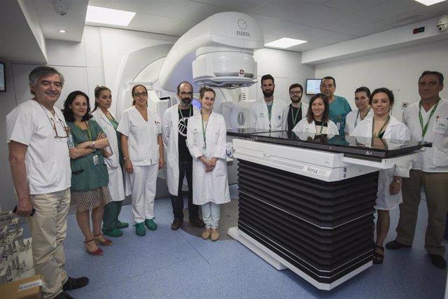 Nuevo acelerador lineal para pacientes oncológicos en el Virgen de las Nieves