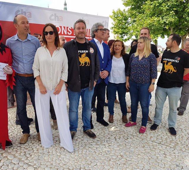 """26M.- Soro (CHA) Apuesta Por Un Aragón """"De Vanguardia"""" Construido Desde La Izquierda"""