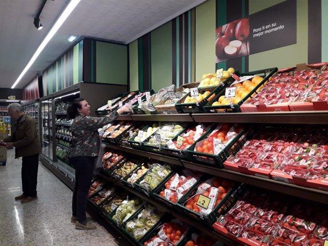 Eroski inaugura un nuevo supermercado franquiciado en Aínsa (Huesca)