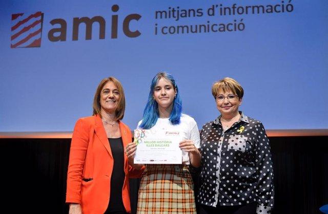 Una estudiante ibicenca, ganadora de 'Ficcions 2019' con una obra sobre prostitución