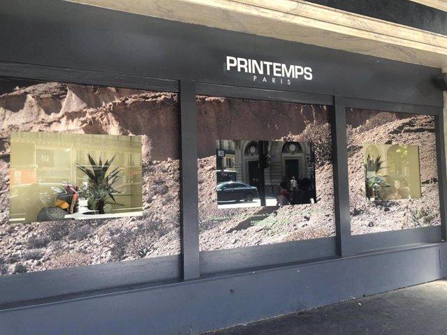 Tenerife se promociona en Francia a través de los grandes almacenes Le Printemps