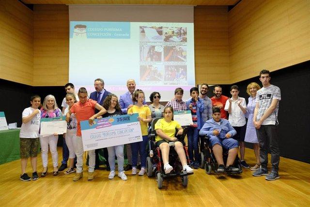 Granada.- El colegio de Educación Especial Purísima Concepción, finalista del Concurso Escolar del Grupo Social ONCE