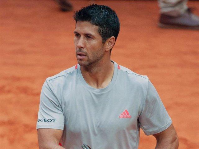 Fernando Verdasco presume de hijo en 'Roland Garros'