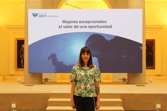 Granada.- La granadina Rosa Muñoz participa en un debate presidido por la Reina sobre mujeres que rompen barreras