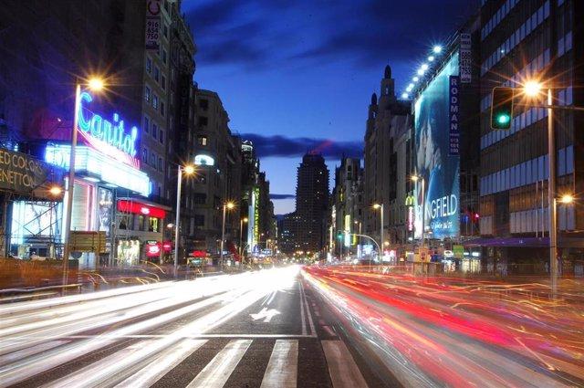 Recursos Madrid por la noche