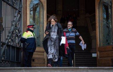 El tribunal confirma la multa de 2.500 euros a Baños i Reguant per negar-se a contestar Vox en el judici (David Zorrakino - Europa Press - Archivo)