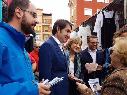 """García Tejerina avisa que el voto al PP """"es importante"""" porque es la única alternativa """"para evitar el Sanchismo"""""""
