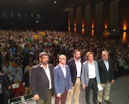"""Abascal insta a los ciudadanos baleares a detener """"el proceso pancatalanista"""" que supone """"continuar con el 1-O"""""""
