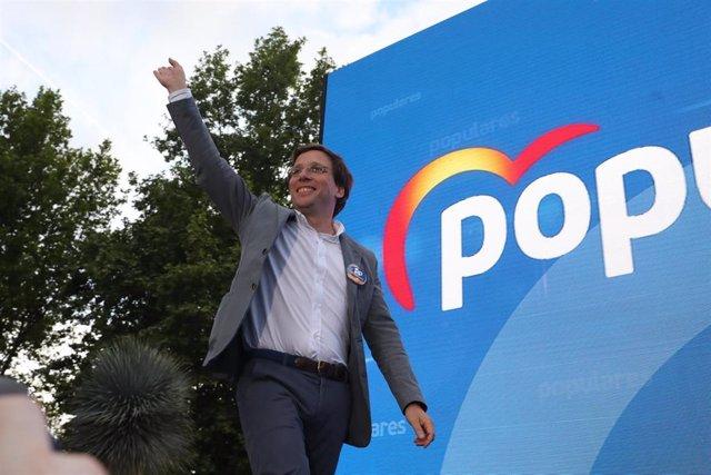 26M.- Almeida se reunió con el presidente del Comité Olímpico Español para elaborar su programa electoral de deportes