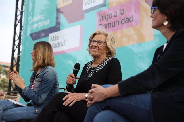 """26M.- Carmena anuncia una concejalía de mediación para """"que los ciudadanos puedan mediar contra el Ayuntamiento"""""""