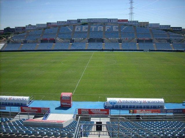 Getafe.- La alcaldesa rechaza la venta del Coliseum y la Ciudad Deportiva al Getafe CF