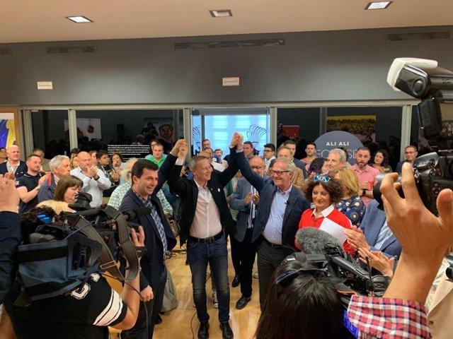 """26M.- Guirao asegura que el 28A plasmó la """"centralidad"""" del PSOE y pide completar este domingo """"el gran paso"""" dado"""