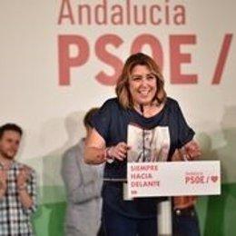 """26M.- Susana Díaz Incide En Dúrcal En La Necesidad De """"Rematar La Faena"""" El Próximo Domingo"""