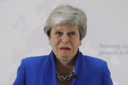 May anuncia que dimitirà com a líder del Partit Conservador el 7 de juny (Kirsty Wigglesworth/PA Wire/dpa)