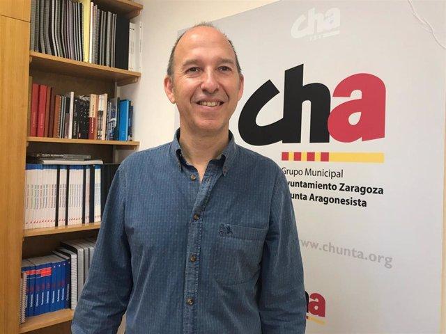 26M.- Zaragoza.- Asensio (CHA) No Descarta Entrar En Un Gobierno De Coalición Y Crear Alianzas También Con La Ciudadanía