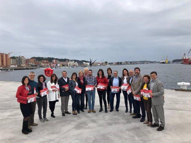 """26-M-M.-Avilés.-Mariví Monteserín (PSOE): """"Este Domingo Nos Jugamos Un Gobierno Serio Y Que No Le Falle A Avilés"""""""
