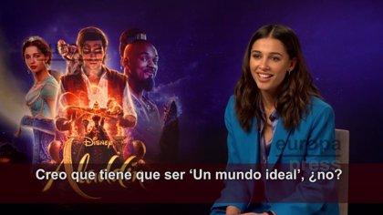 """Naomi Scott, una Jasmine empoderada en Aladdin: """"Las Princesas Disney ahora son más humanas, tienen su propia historia"""""""