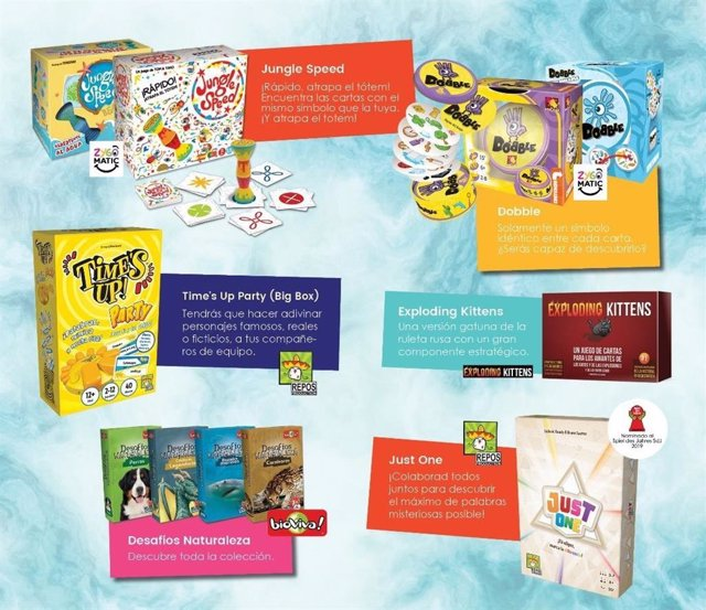 COMUNICADO: Los juegos de mesa recuperan su espacio de cara al verano frente a las múltiples opciones de ocio digital