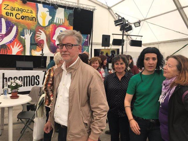 """26M.- Zaragoza.- Santisteve Pide El Voto De Los Indecisos: """"Zec Os Necesita"""""""