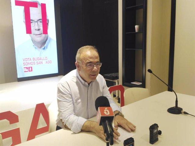 """26M.- Bugallo Contrapone Su Campaña """"Propositiva"""" A La """"Sucia"""" De CA Y Pide El Apoyo Para Un Santiago """"Fuerte"""""""
