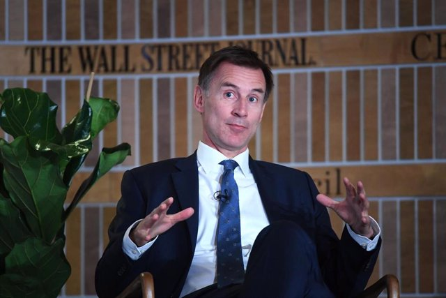 Jeremy Hunt at Wall Street Journal CEO council meeting in London