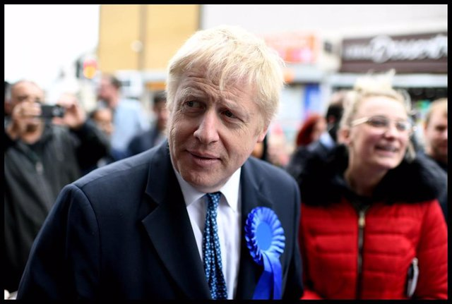 Boris Johnson Campaigning for Local Elections