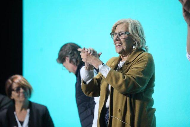 """VÍDEO: Carmena, orgullosa de sus 75 años, reivindica a compañeros asesinados frente a los que """"sueñan con la dictadura"""""""