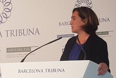 Colau creu que només ella garanteix posar el focus a Barcelona i no en el procés independentista (EUROPA PRESS)