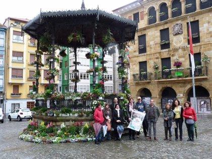Unas 1.000 flores adornarán la Goiko Plaza de Bermeo para celebrar la Feria especial de Flores el 1 de junio