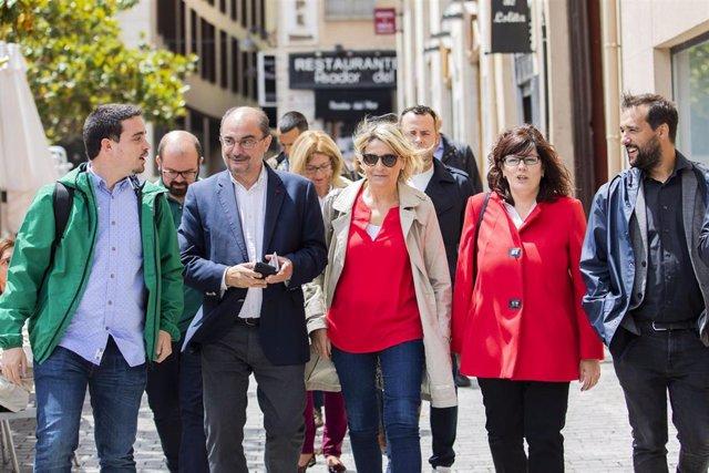 """26M.- Lambán Afirma Que """"No Se Puede Echar A Perder El Momento Espléndido Que Vive Aragón"""""""