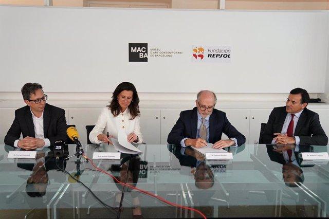Fundació Macba i Repsol renoven aliança perquè el museu segueixi custodiant 41 obres d'art
