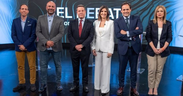 26M.- El debate electoral emitido por CMM alcanza un 9,2 por ciento de audiencia, con una media de 68.000 espectadores