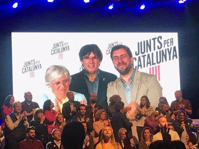 """26M.- Puigdemont Llama A Concentrar El Voto """"Independentista Y Republicano"""" En Jxcat"""