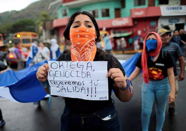 """El reto de la """"imparable"""" oposición contra el Gobierno de Nicaragua"""