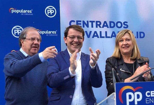 """26M.- Mañueco Pide A Los Votantes Una Mayoría Que """"Haga Imposible Cualquier Cambalache En Los Despachos"""""""