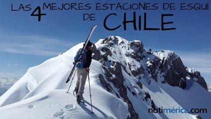 Estas son las 4 mejores estaciones de esquí de Chile