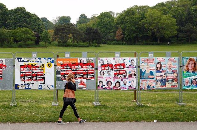 Bélgica.- Los belgas acuden este domingo a las urnas en una triple cita electoral