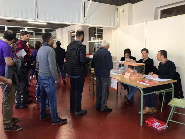 28A.- La participación alcanza el 58,93% en Galicia a las 18,00 horas, 7 puntos más que en 2016