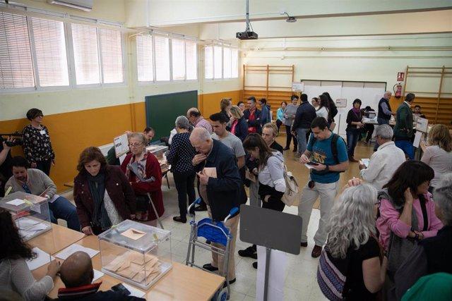 26M.- Más de 180.000 ciudadanos atenderán mañana las mesas electorales y cobrarán 65 euros en concepto de dieta