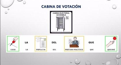 Un colegio de Boiro, pionero en su adaptación para el voto de personas con discapacidad intelectual