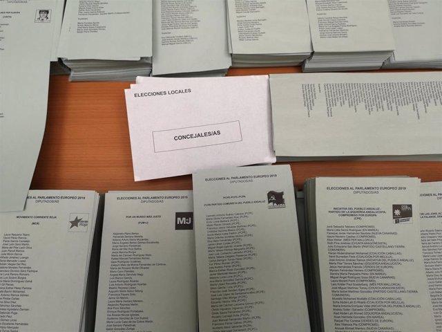26M.- Más de 19.000 agentes velarán por la seguridad en los 3.825 colegios electorales de Andalucía este domingo
