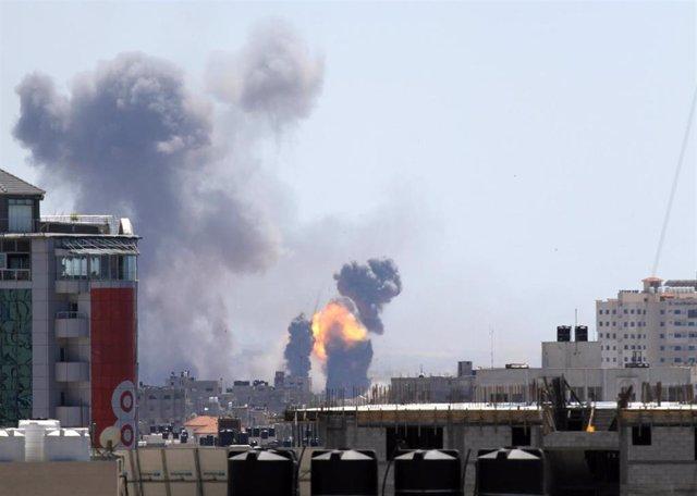 O.Próximo.- Un niño de un año y su madre embarazada, muertos en bombardeos israelíes sobre la Franja de Gaza