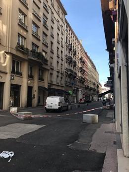 AMP2.- Francia.- La Policía busca a un sospechoso tras una explosión en el centro de Lyon que ha dejado trece heridos
