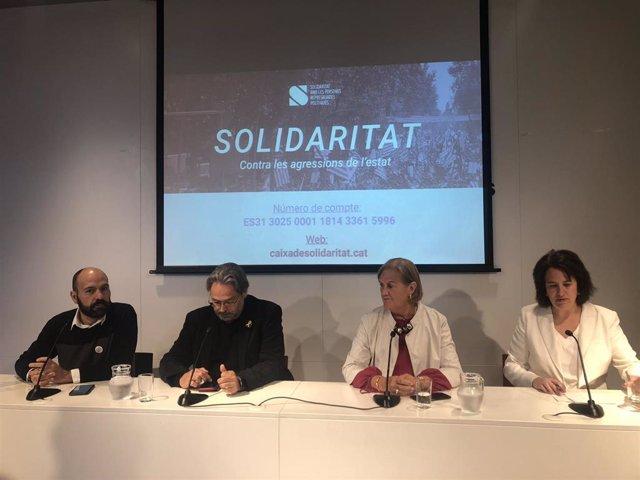 La Caja de Solidaridad pide 700.000 euros para levantar embargos a procesados por el 1-O