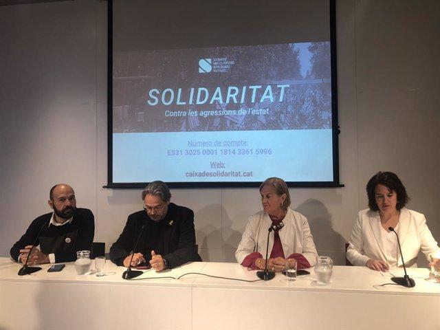 La Caixa de Solidaritat demana 700.000 euros per aixecar embargaments a processaments per el 1-O