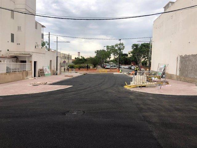 Finalizan las mejoras en distintas calles de Can Negre (Santa Eulària)
